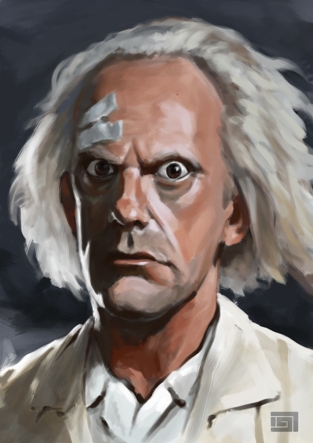 Back to the Future Doc Brown From